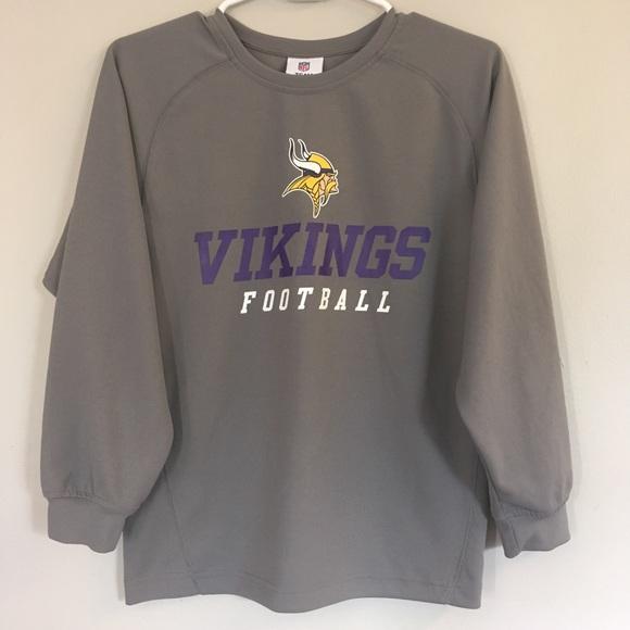Minnesota Vikings Football Long Sleeve Shirt